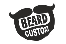 beard custom logo