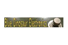 blue dinosaur logo