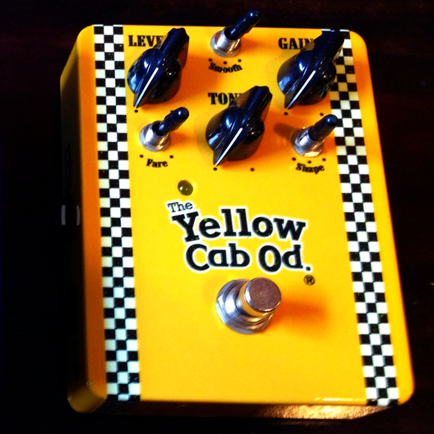 Favoretti's Custom Design Yellow Cab Overdrive