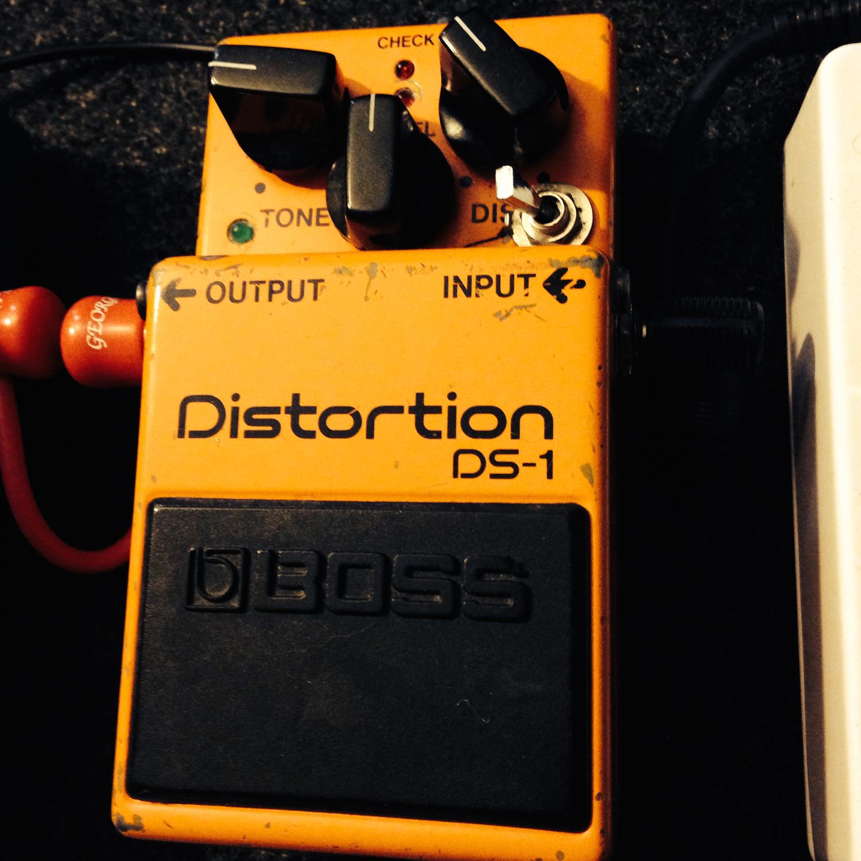 Boss DS-1 Distortion (Keeley Ultra Mod)