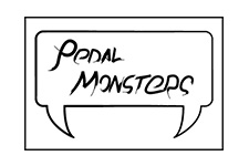 pedal monsters logo