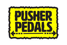 pusher pedals logo