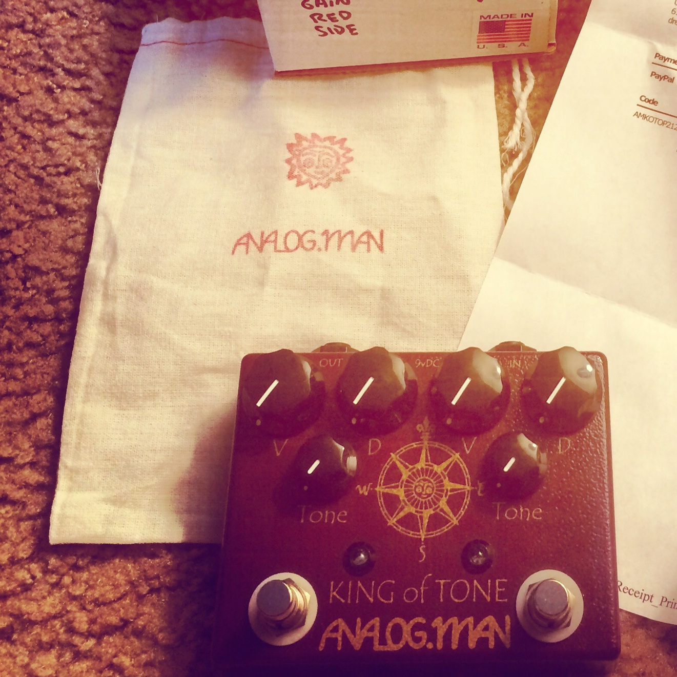 Analogman King of Tone Overdrive