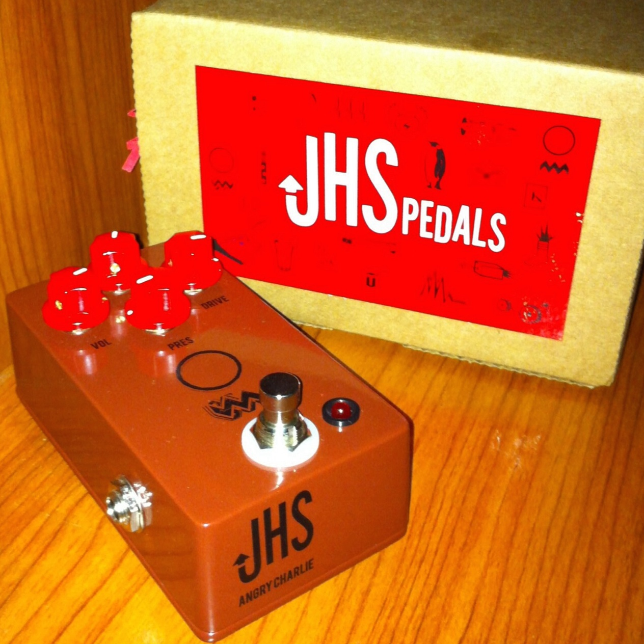 JHS Pedals Angry Charlie Channel Drive