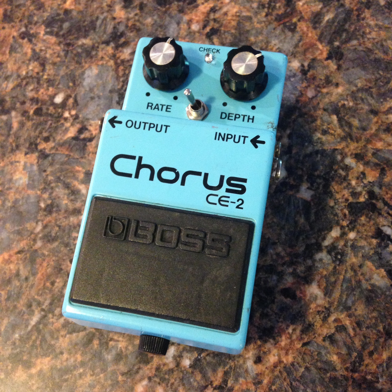 Boss CE-2 Chorus (Modest Mike modded)