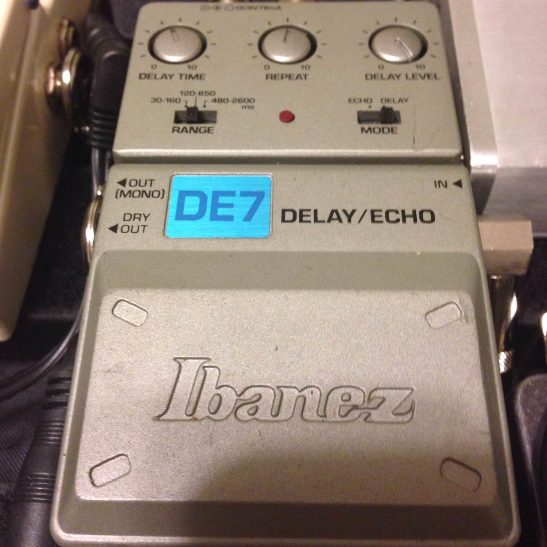 Ibanez Tone-Lok DE7 Delay/Echo