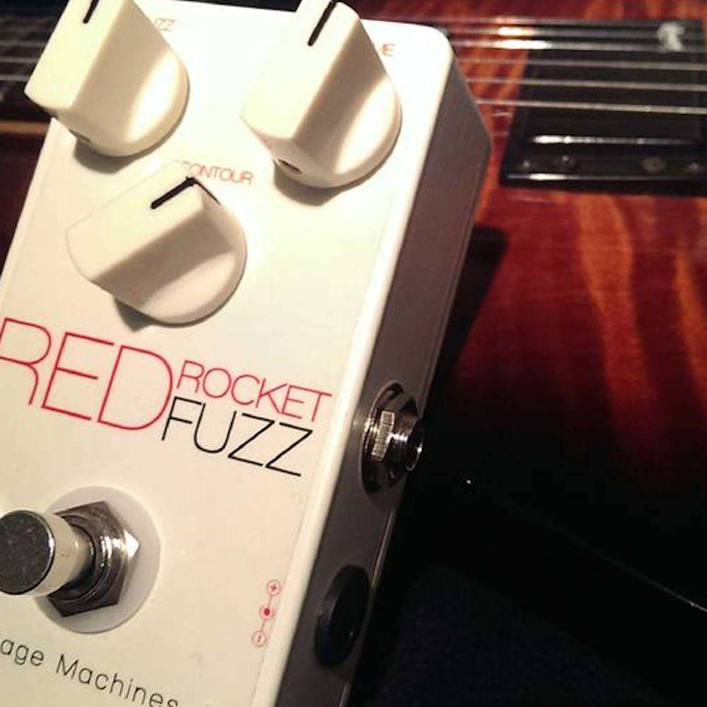 Vintage Machines Red Rocket Fuzz
