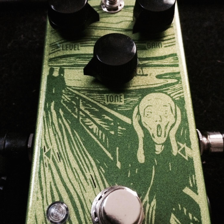 FoxPedal The Scream Custom OD808 Clone