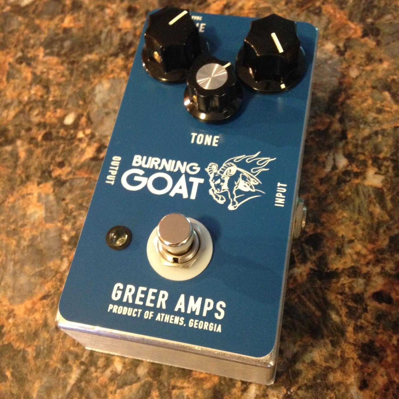 Greer Amps Burning Goat Overdrive