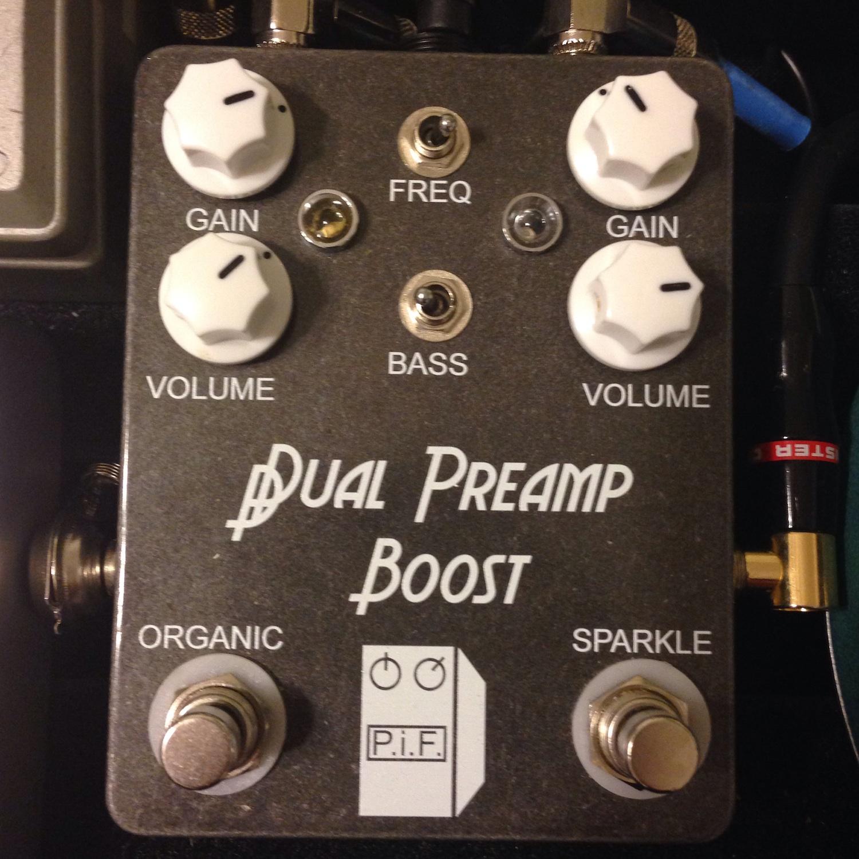 P.I.F. Pedals Dual Preamp Boost