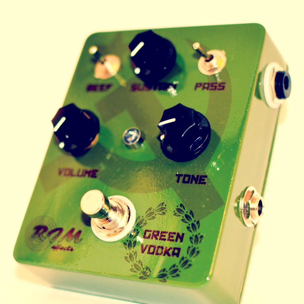 RJM Effects Green Vodka Fuzz