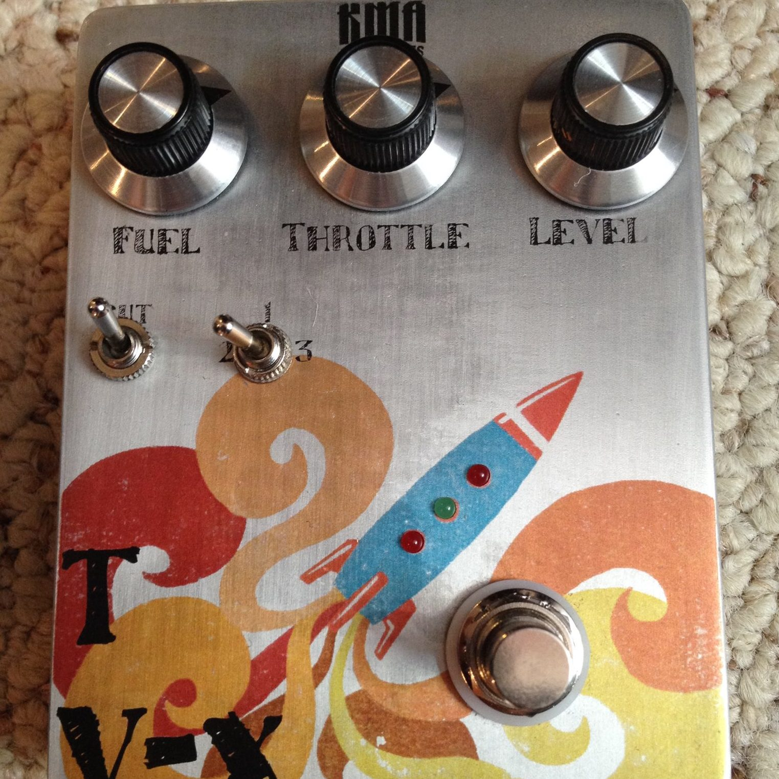 KMA Machines TV X Rocket Fuzz