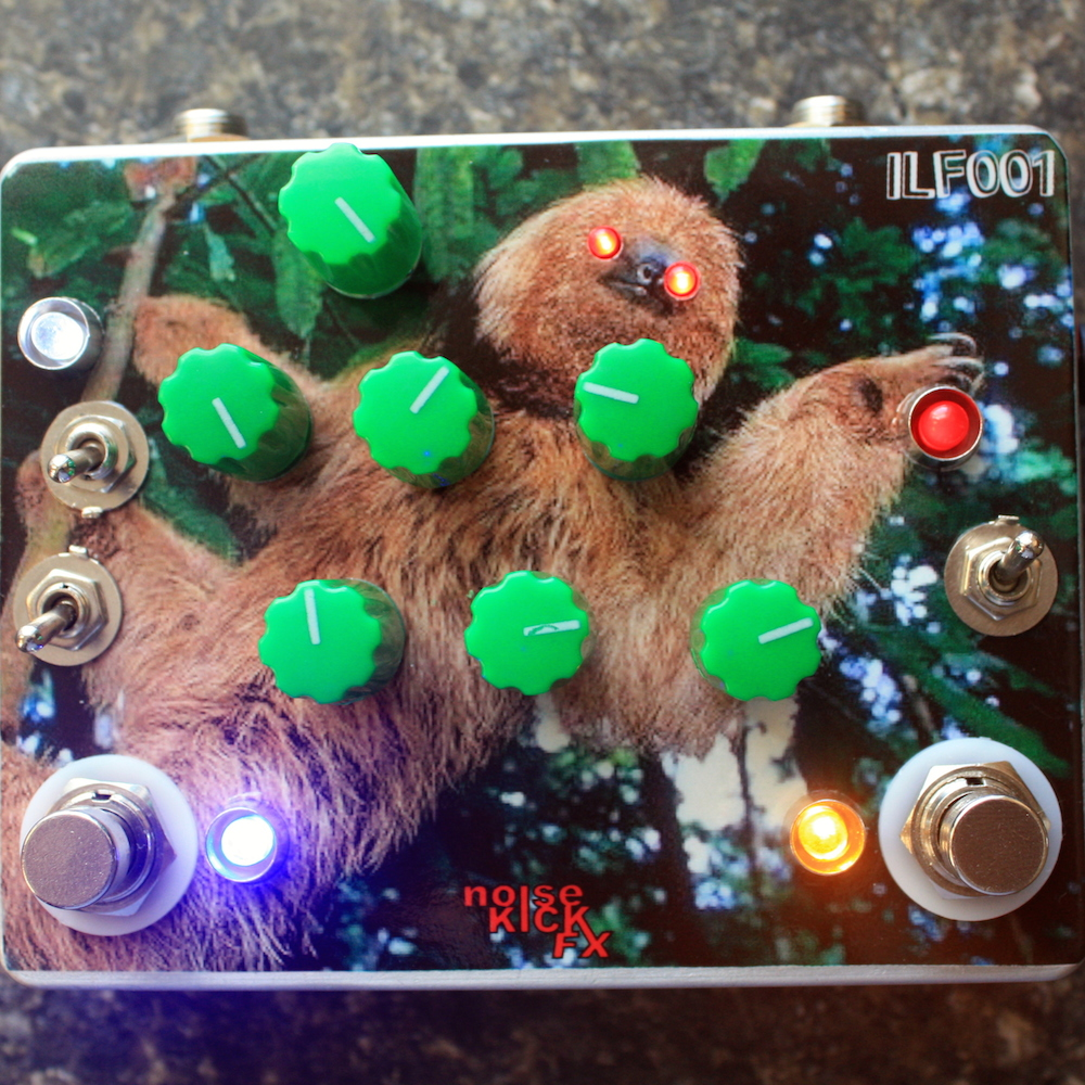 NoiseKICK FX The Reach Distortion Tremolo Oscillator