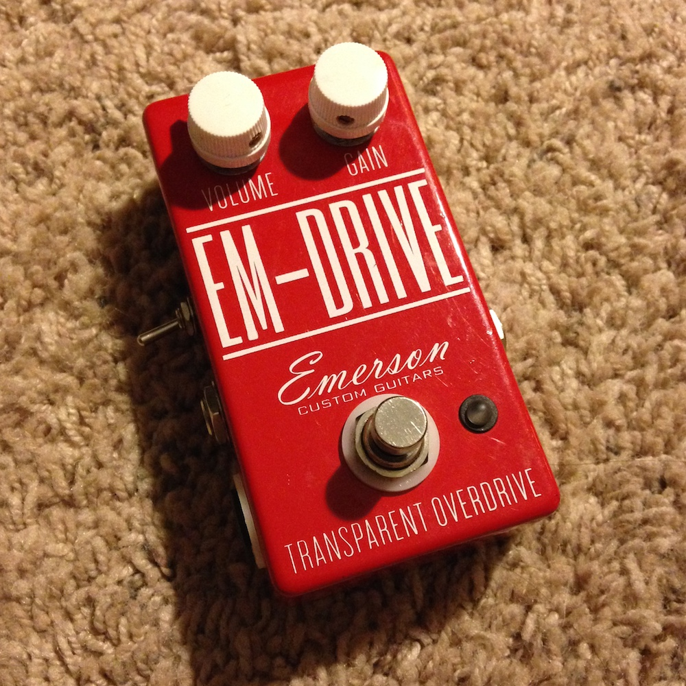 Emerson Custom Guitars EM+Drive (Pedal Projects mod)