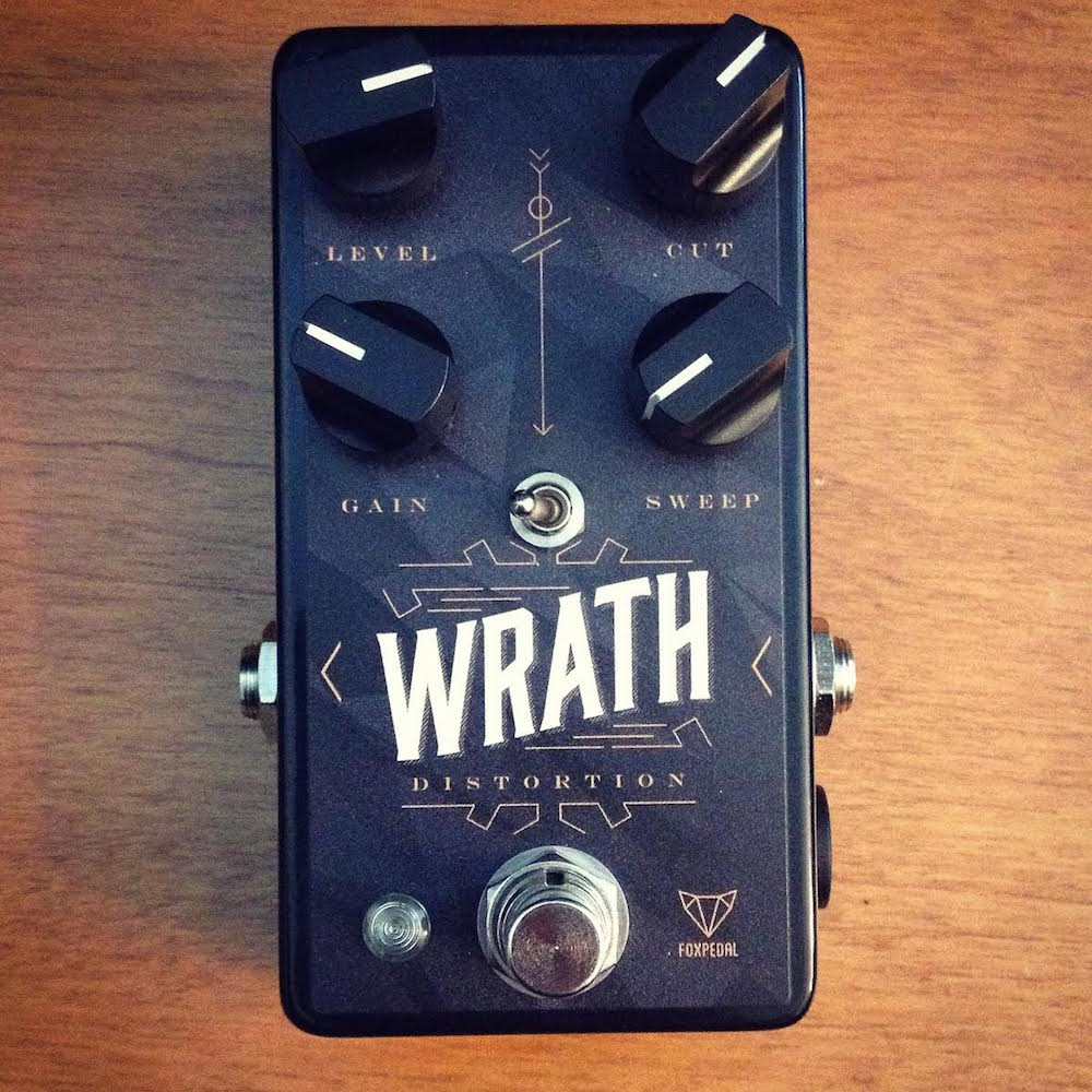 FoxPedal The Wrath Distortion