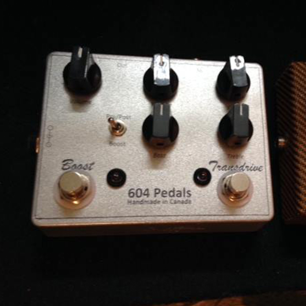 604 Pedals Transdrive