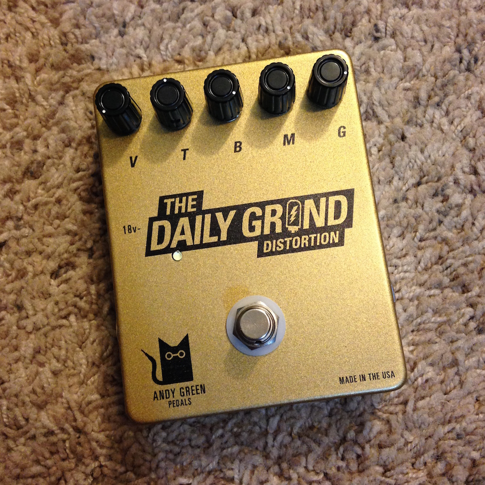 Andy Green Pedals The Daily Grind Distortion