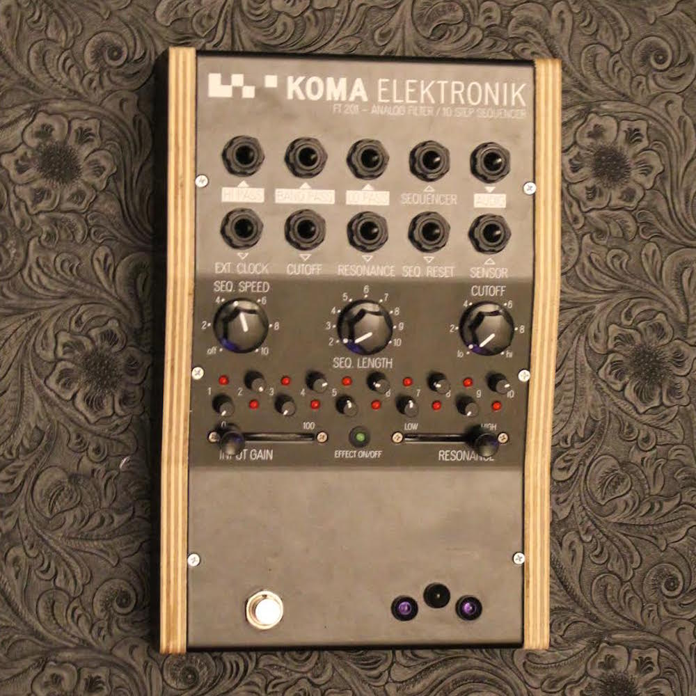 KOMA Elektronik FT201 Analog Filter / 10 Step Sequencer