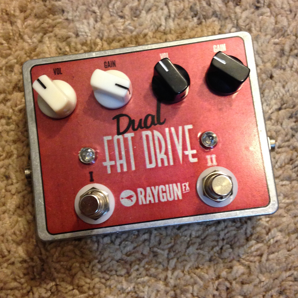 RayGun FX Dual Fat Drive Overdrive / Distortion / Boost