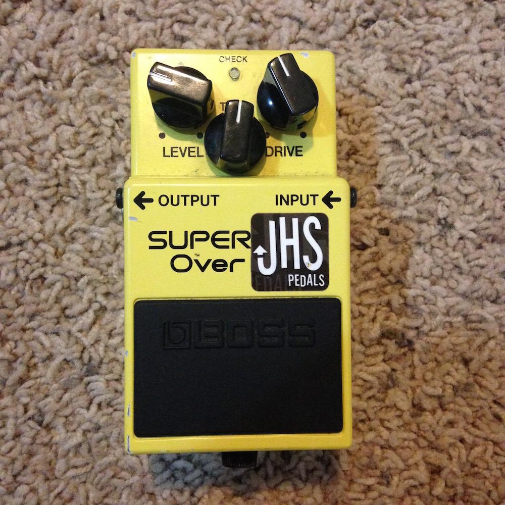 Boss SD-1 Super Overdrive (JHS Pedals Trans Am mod)