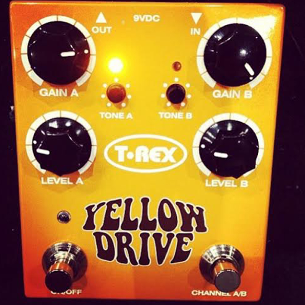 T-Rex Effects Yellow Drive