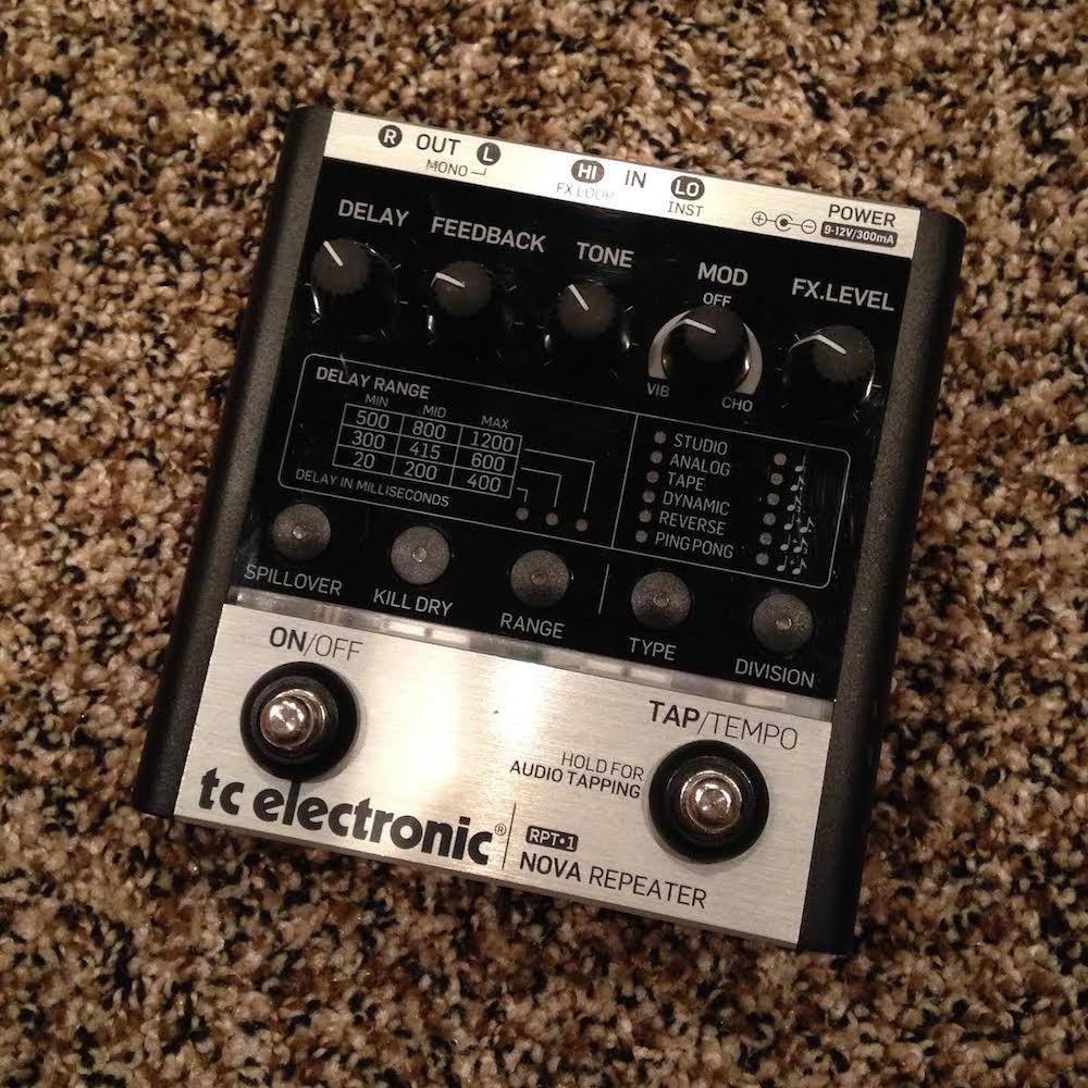 TC Electronic RPT-1 Nova Repeater Delay