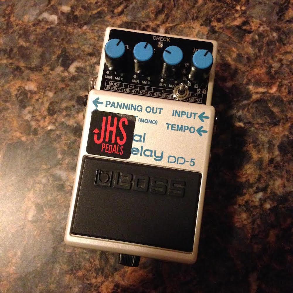 Boss DD-5 Digital Delay (JHS Analog Tone Mod)