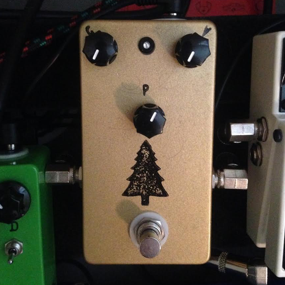 Blackeye Effects Gold Pine Overdrive