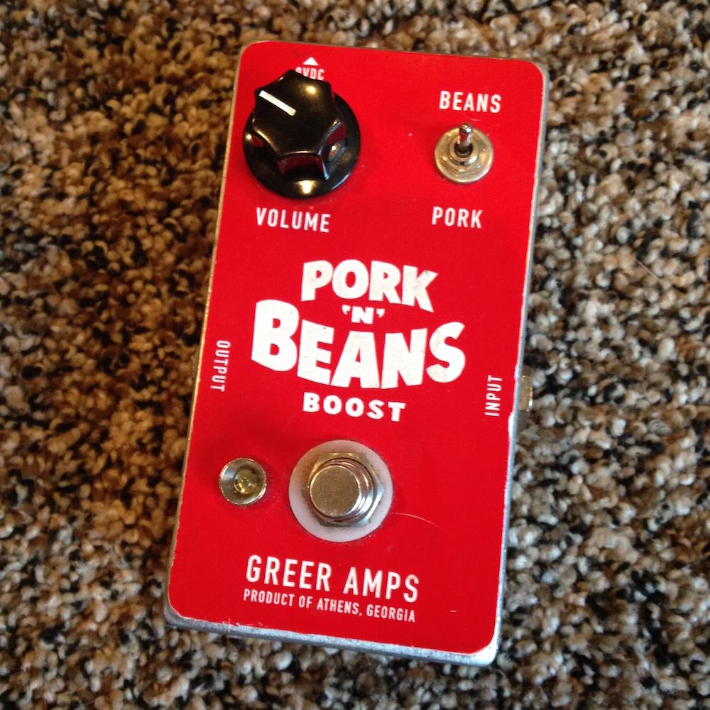 Greer Amps Pork N Beans Boost