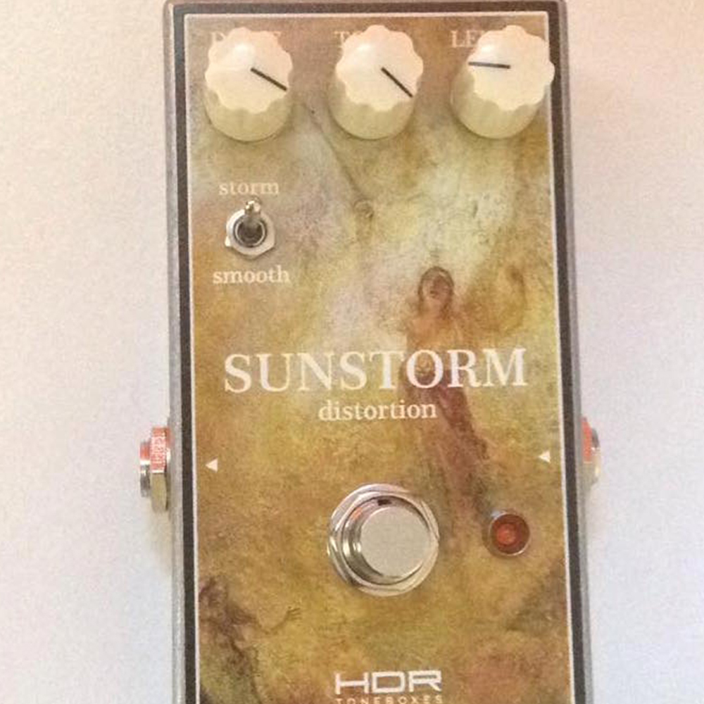 HDR Amplification Sunstorm Distortion/Fuzz