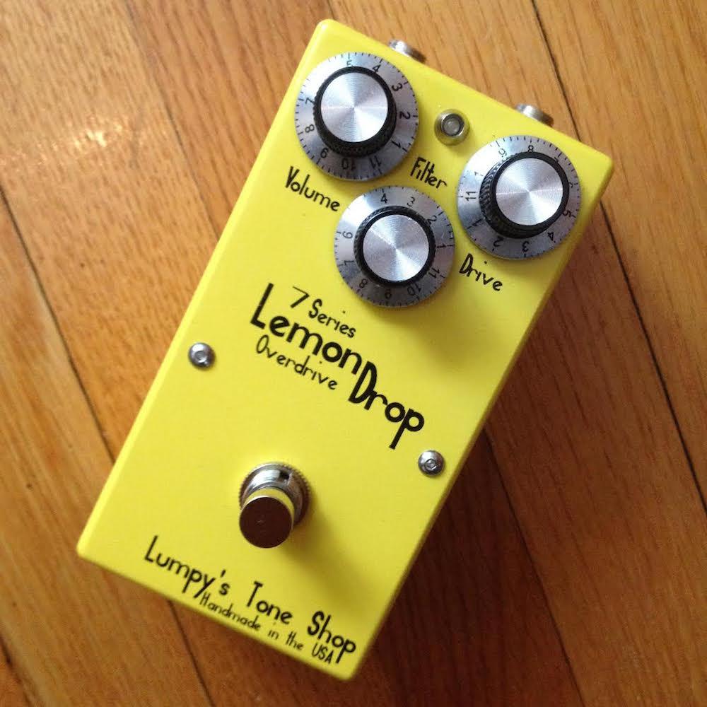 Lumpy's Tone Shop Lemon Drop Overdrive