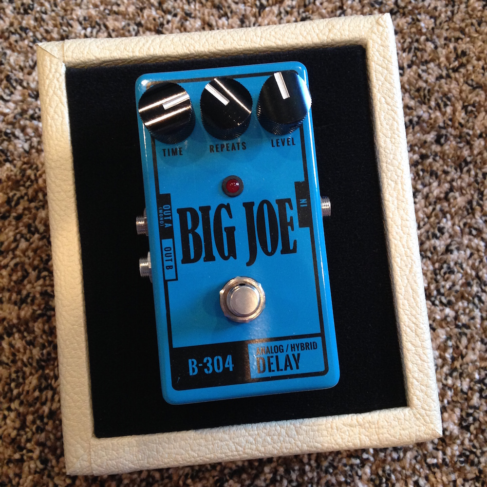 Big Joe Stomp Box Co. B-304 Analog/Hybrid Delay