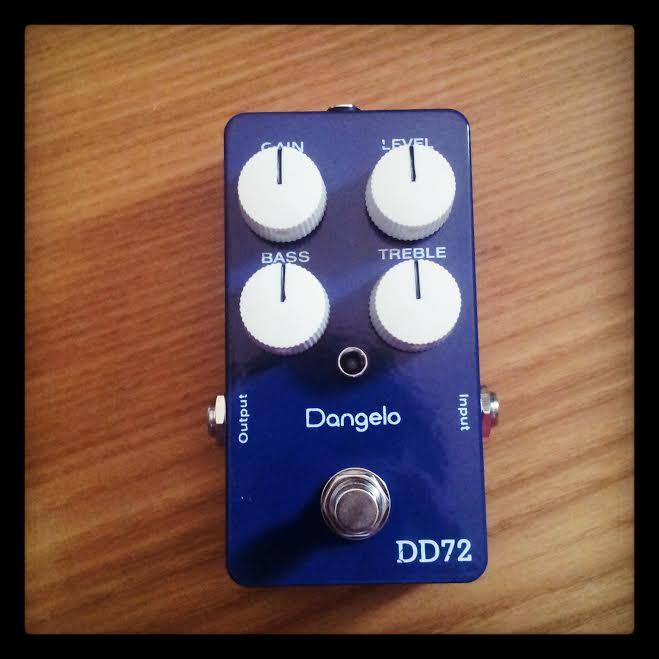 Dangelo Amplifiers DD72 Overdrive/Boost