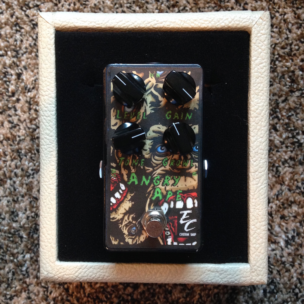 EC Pedals Angry Ape Fuzz