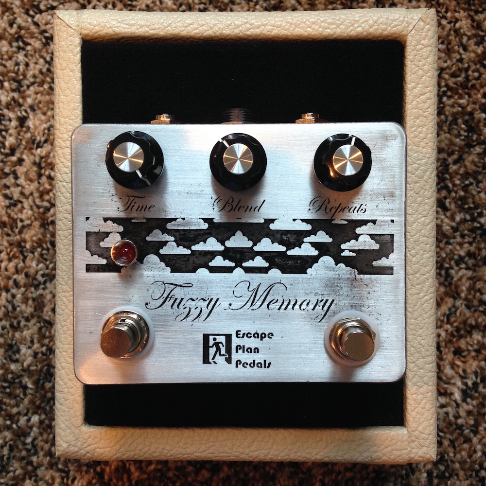 Escape Plan Pedals Fuzzy Memory Echo/Reverb