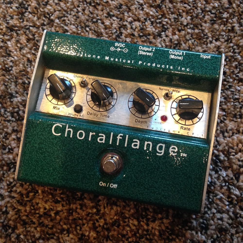 Fulltone Choralflange Chorus Flanger