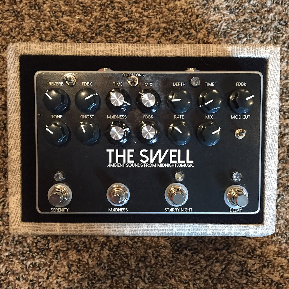 Midnight 30 Music The Swell Reverb/Delay 3-In-1