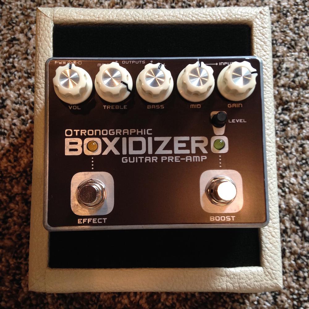 Tronographic Boxidizer Pre-Amp