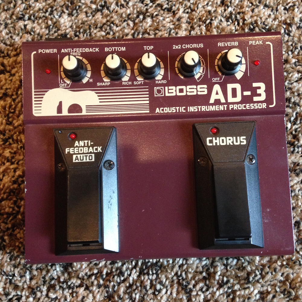 Boss AD-3 Acoustic Processor
