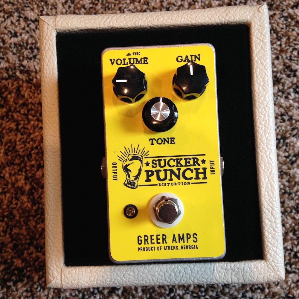 Greer Amps Sucker Punch Distortion