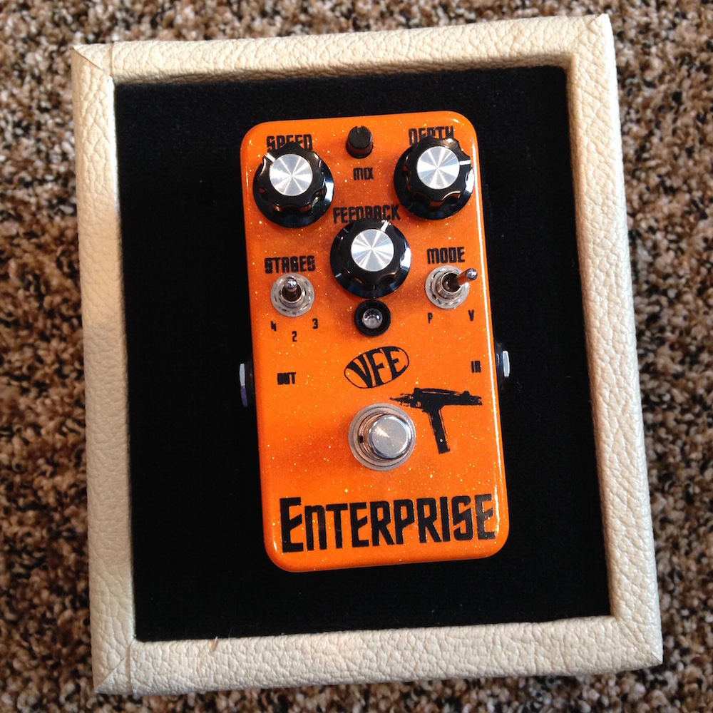 VFE Pedals Enterprise Phaser