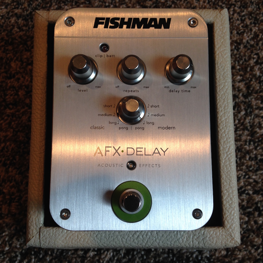 Fishman AFX Acoustic Delay