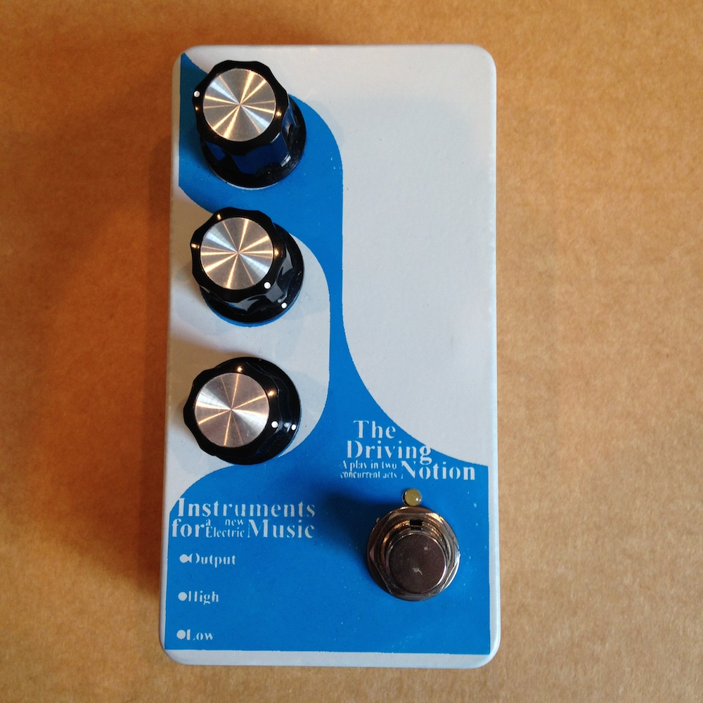 Infanem The Driving Notion Overdrive / Fuzz (3-knob)