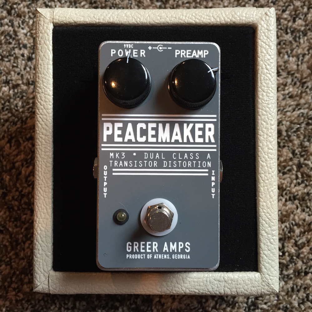 Greer Amps Peacemaker Distortion