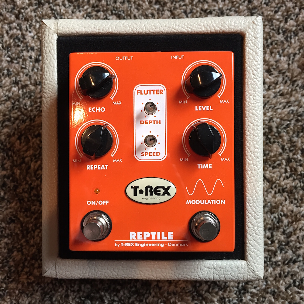 T-Rex Effects Reptile Modulation Delay