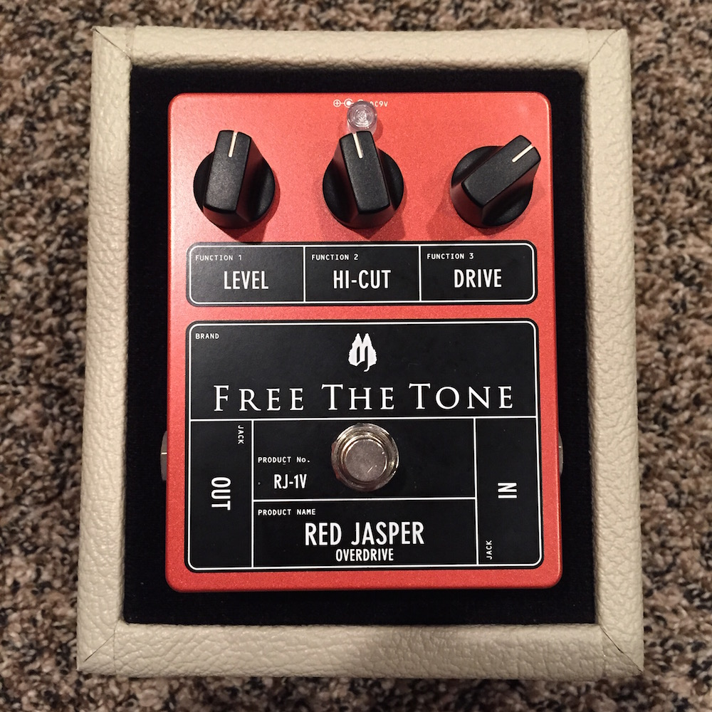 Free The Tone Red Jasper Overdrive