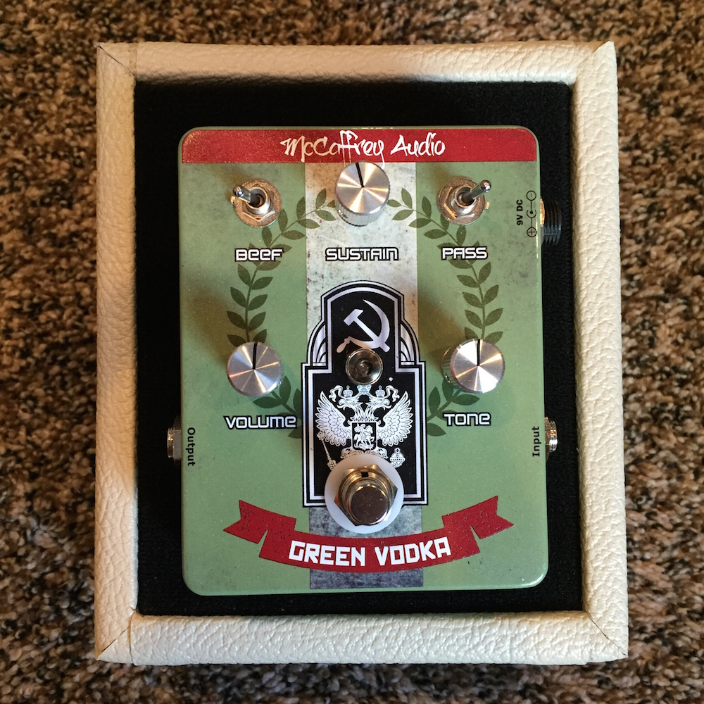 McCaffrey Audio Green Vodka Muff Fuzz