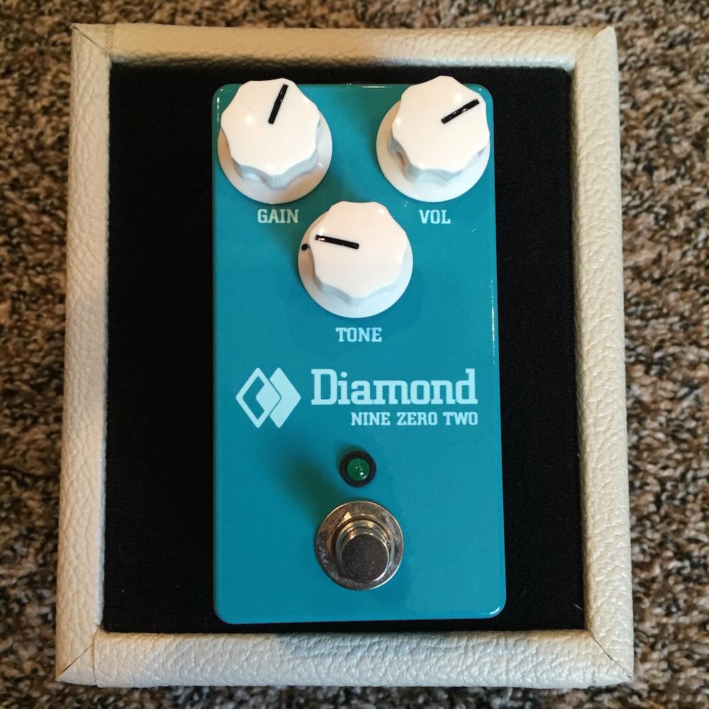 Diamond Pedals Nine Zero Two Overdrive