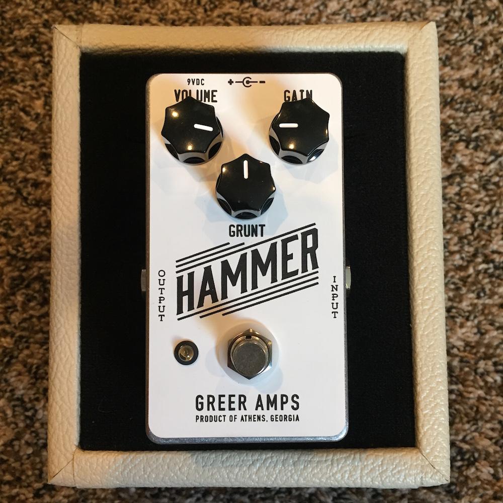 Greer Amps Hammer Distortion Fuzz
