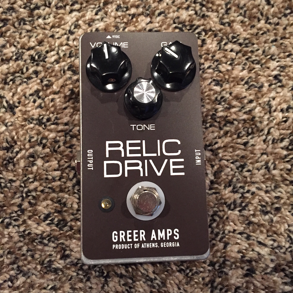 Greer Amps Relic Drive